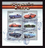 Либерия, 2001. [lib0152] Автомобили (м\л)