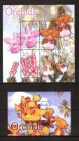 Тувалу, 2004. [tuv0403m] Цветы (м\л+блок)