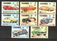 Гамбия, 1986. [nz0157] Автомобили