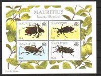 Маврикий, 2000. Жуки (м\л)