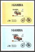 Гамбия, 1986, автомобили, блоки (б\з)